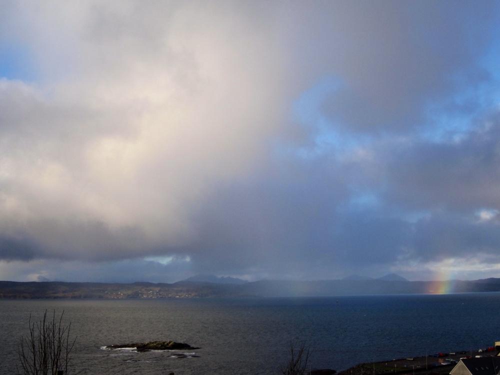 More Rainbow, Mallaig, Scotland
