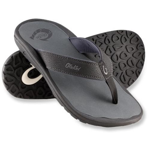 OluKai Men's Flip Flops