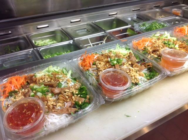 Bún to go at Eat Street's My Huong Kitchen