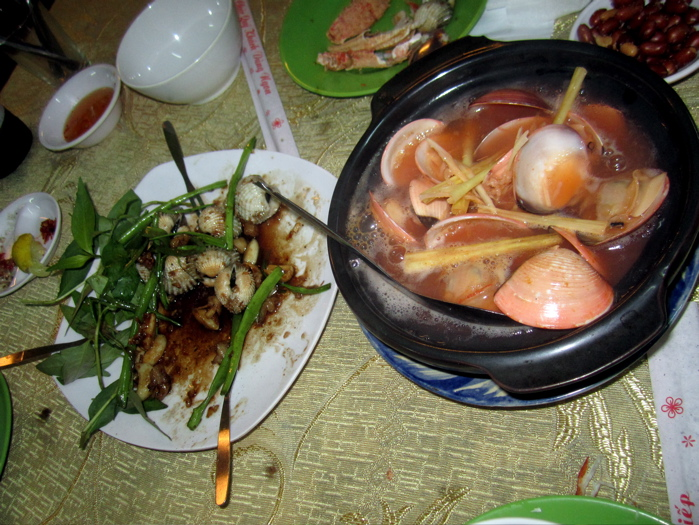 Seafood from a street stall in Ho Chi Minh City - we chase these incredible flavors wherever we can