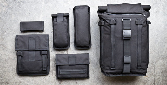The Mission Workshop Arkiv System modular packs start at $209, not including accessory packs