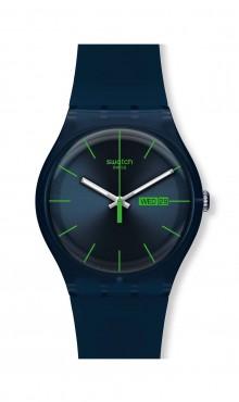 Blue Rebel Swatch Watch