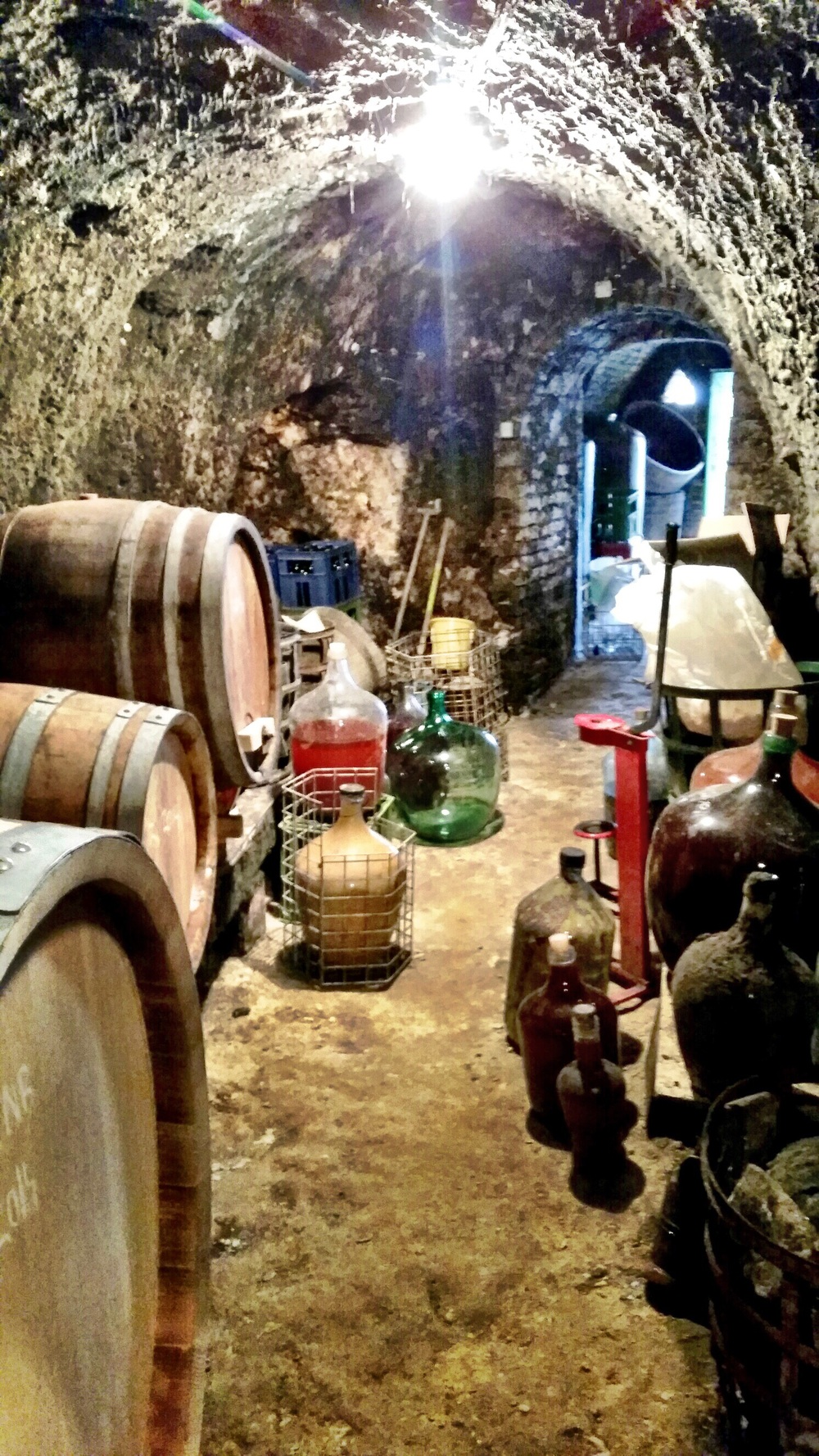 The cellar where pre-bottled magic lives