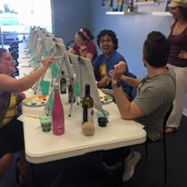 BYOB Painting Parties Kansas City - Painted Clover