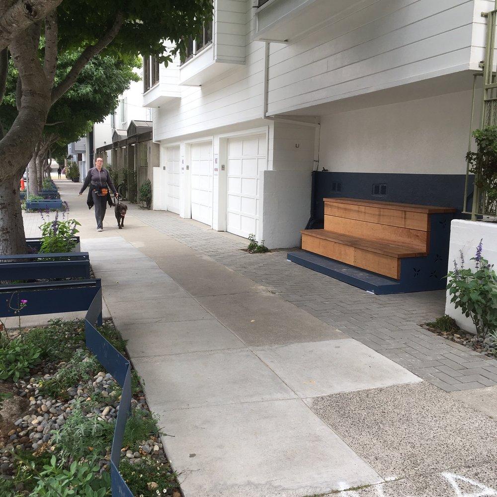 Urban Sidewalk Garden