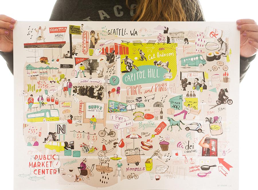Austin Graphic Design Illustration KTOM