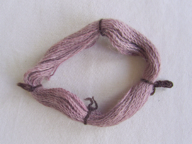 elderberry dyed alpaca