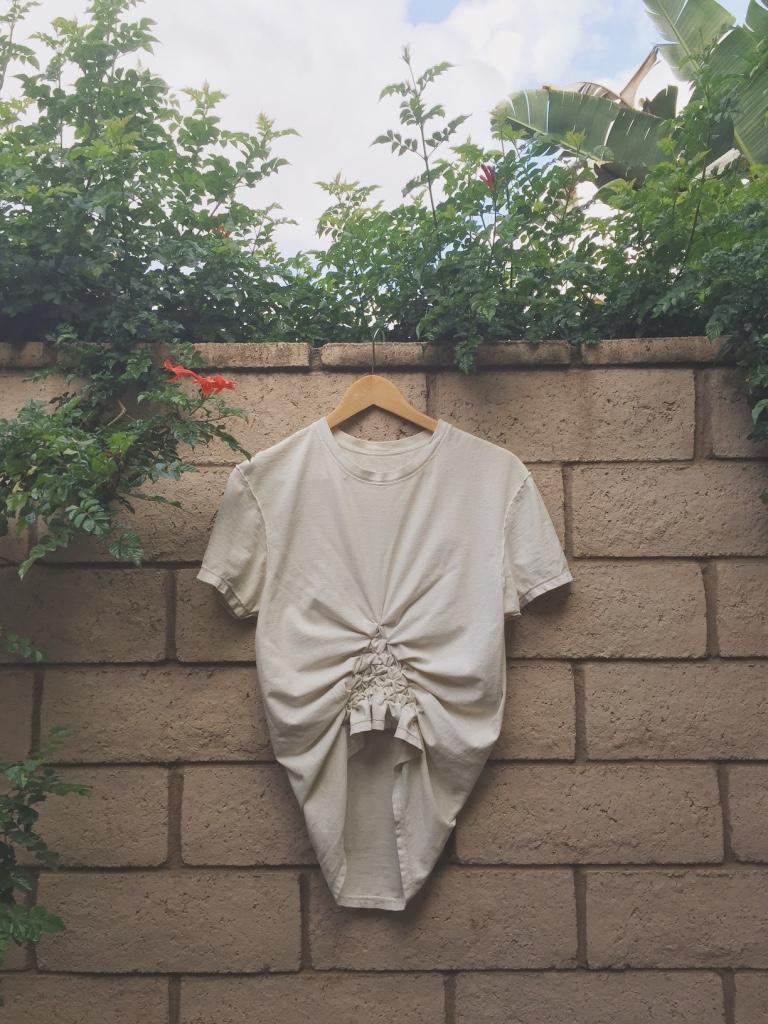 garment shibori prepped