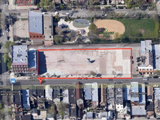 1822-50 W. Chicago Ave: 35,000 sf land sale in hot East Village neighborhood of Chicago.