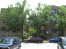 1219 W. Greenleaf: 45-unit conversion in Rogers Park, Chicago. Situated at end of cul-de-sac on Lake Michigan/ beach access.