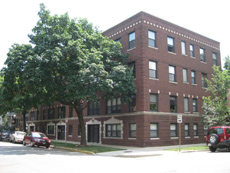1247 W. Roscoe: 18-unit condo conversion in Lakeview, Chicago. Steps from Southport retail district.