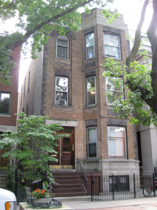 1905 N. Howe: 5-unit multi-family investment in Lincoln Park, Chicago. Located on prime block of Howe.