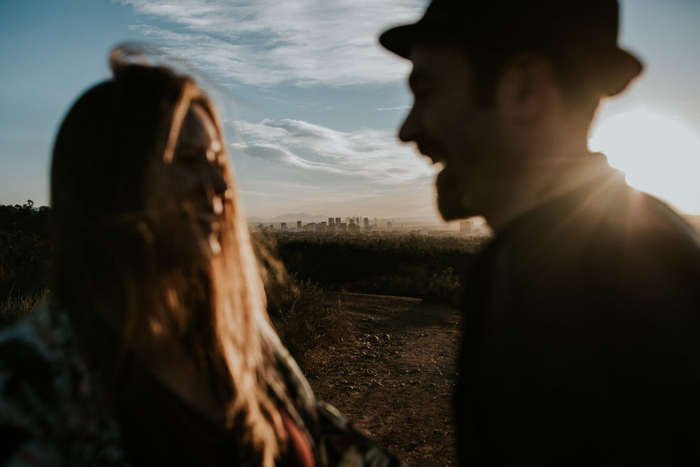 Jan 28: A sunrise hike on the Will Rogers trail with these lovebirds talking wedding plans and all the good stuff. So looking forward to their wedding weekend in May. Will be sharing LOADS more from their engagement session on my  wedding blog .