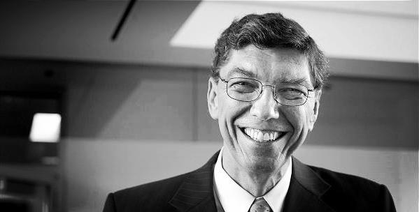 Clayton Christensen, author of  The Innovators Dilemma