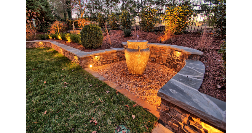 Low-voltage-L.E.D.-Lighting-Bubbling-Urn-Water-Feature-Dry-Stack-Wall-Crab-Orchard-Caps.1.jpg