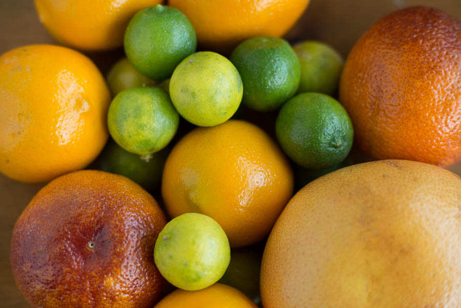 I have been on a citrus kick this winter/spring. I picked up a bunch of exotic citruses (blood oranges, key limes, meyer lemons, pink grapefruits) at the local healthy grocery store.