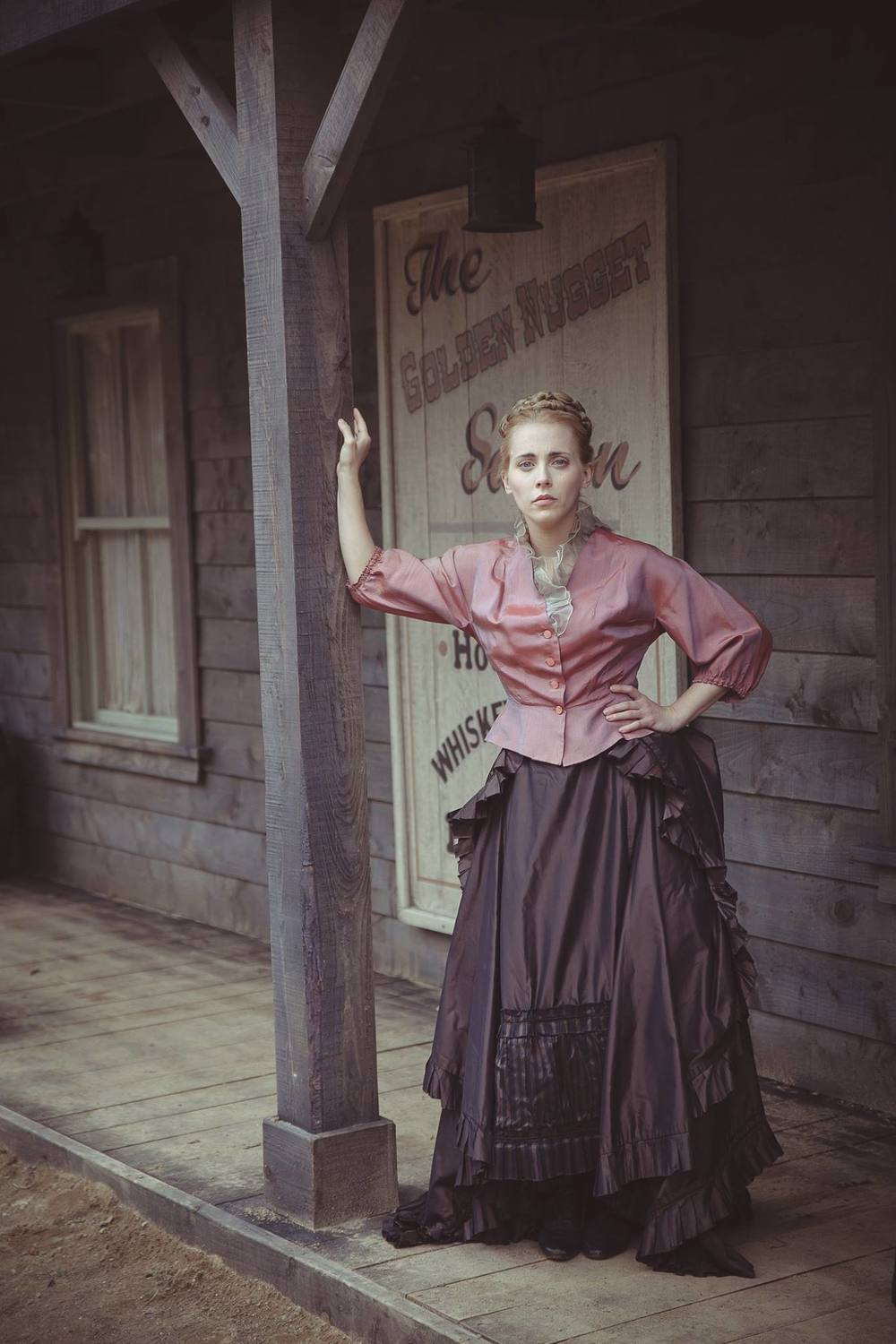 As Estella Hopkins in An Klondike (photographer: Sean T. O' Meallaigh)