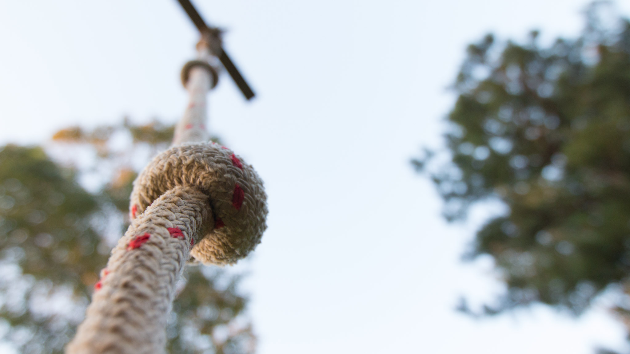 Rope Swing For A Kids Playhouse Maker