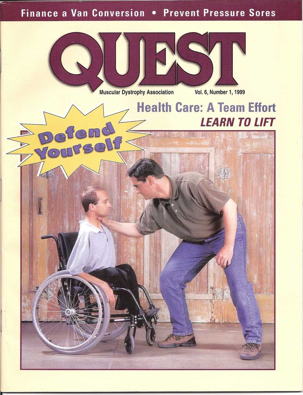 Cover of Quest Magazine
