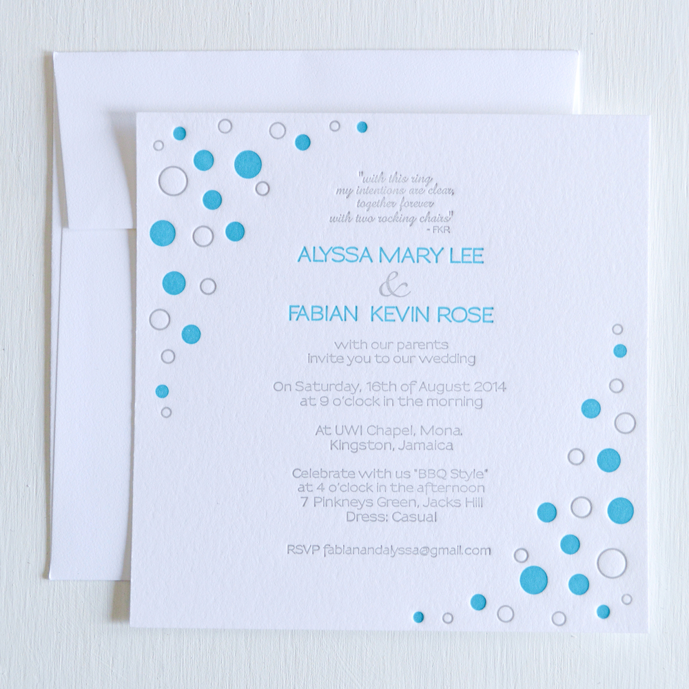 teal and grey backyard bbq letterpress wedding invitation.jpg