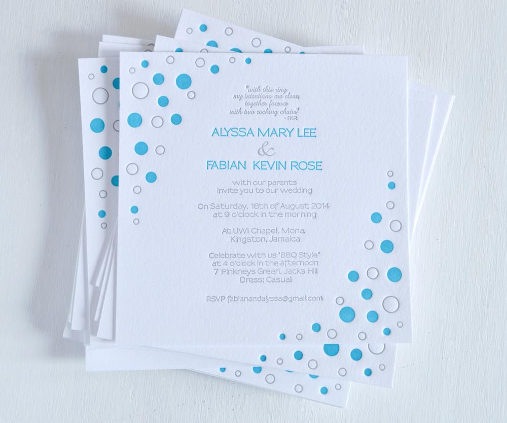teal and grey backyard bbq letterpress wedding invitation 1.jpg