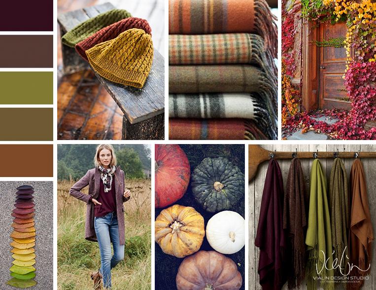 vialin design studio inspiration - autumn hues