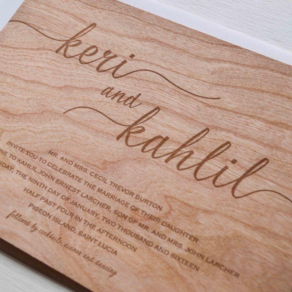 K&K wooden letterpress wedding invitation 2.jpg