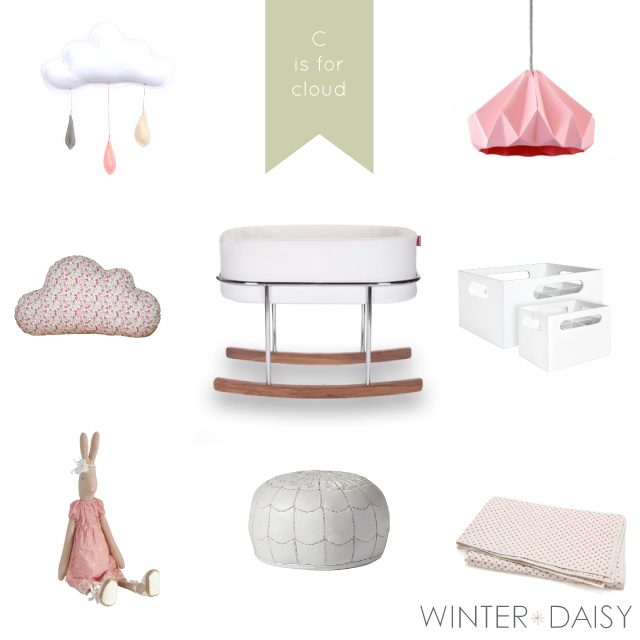 WINTER*DAISY interiors for children baby girl nursery