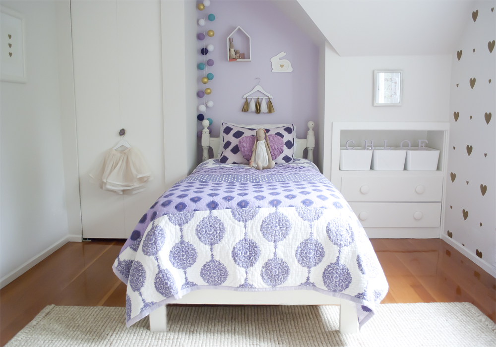 CHLOE\'S BIG GIRL BEDROOM — WINTER DAISY interiors for children