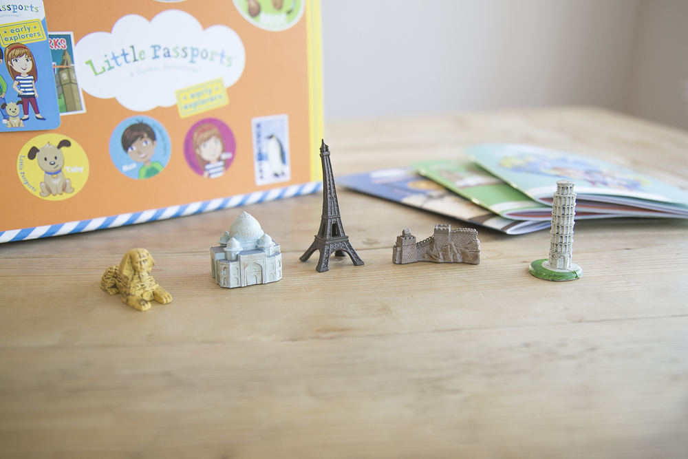 landmarks of the world figures for kids