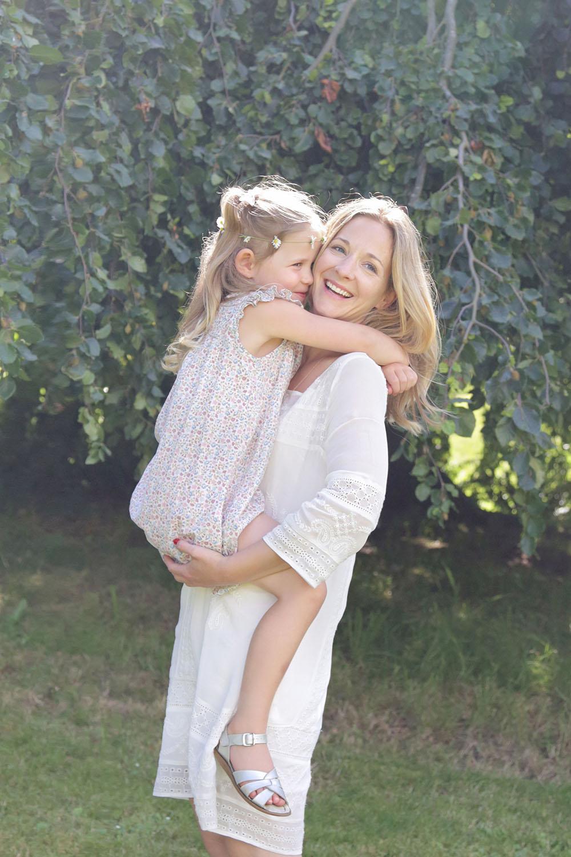 Melissa holding Noelle