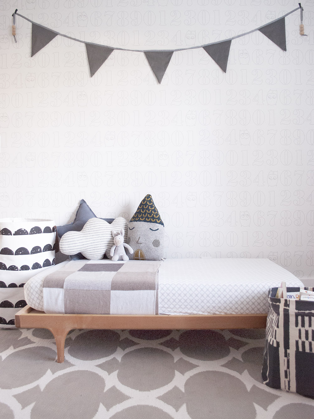 Kalon Studios toddler bed in Vancouver Interior Designer Melissa Barling's son Xavier's room
