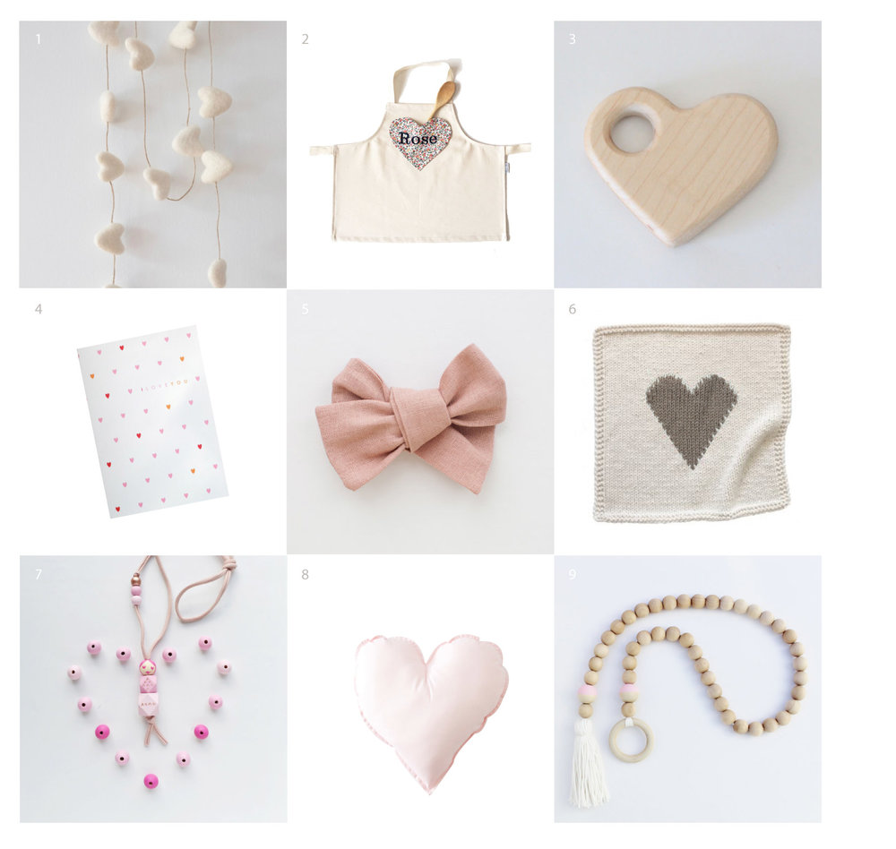 Valentine's Day gifts for kids from Etsy