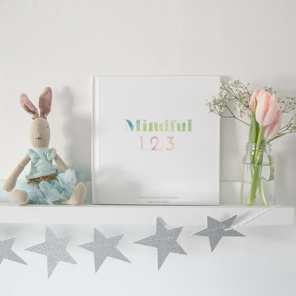 Mindful 1,2,3 book on shelf