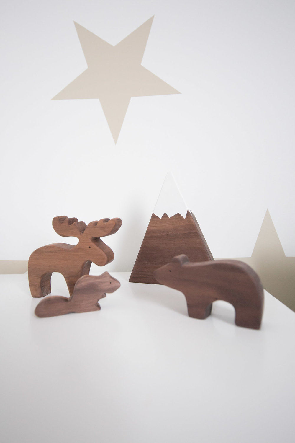wooden animal toys by trae designs