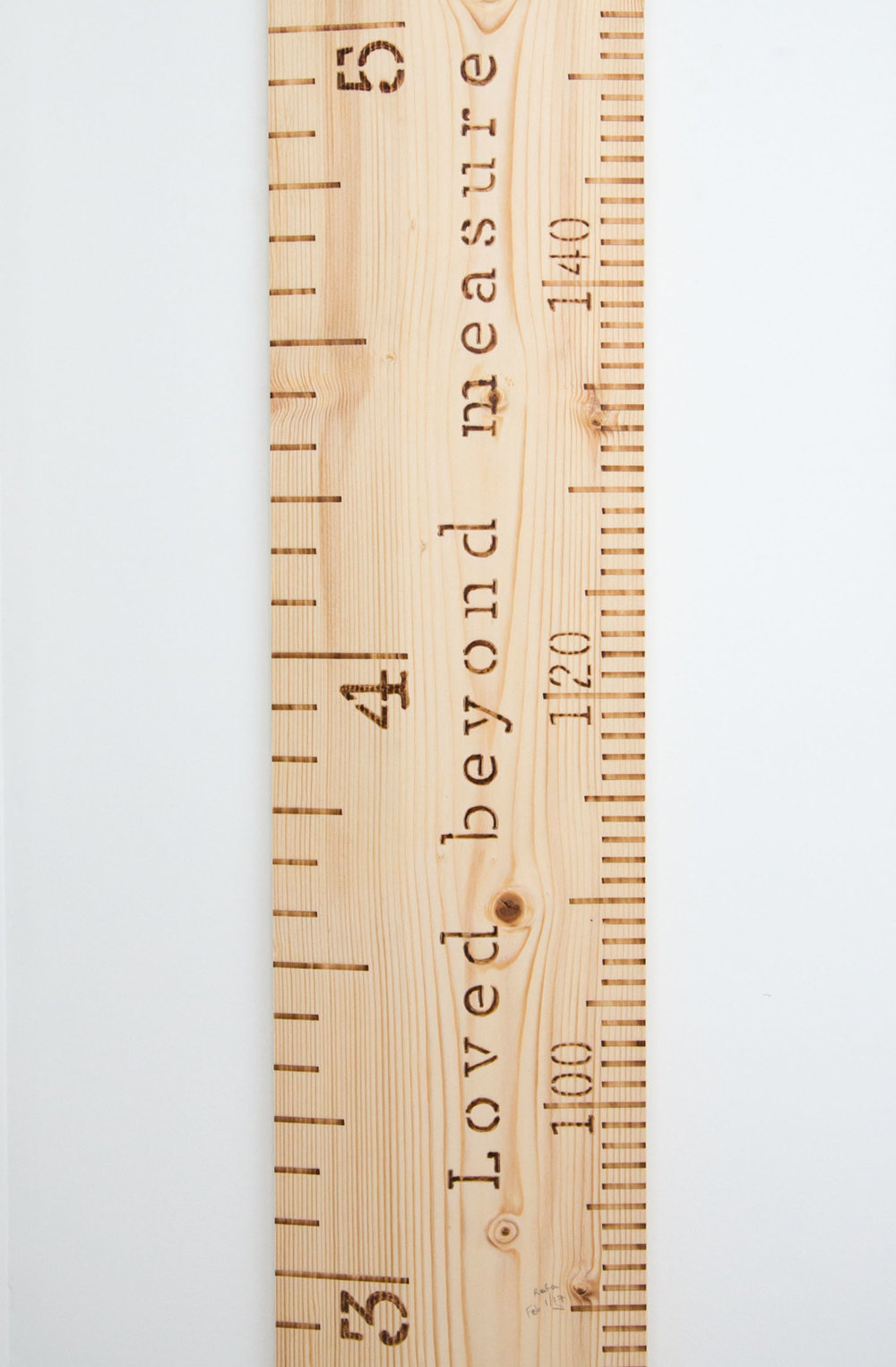 handmade growth ruler by ecokidzrule on etsy