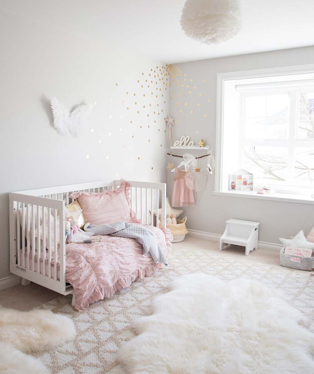 ella's toddler girl room by children's Interior Designer Melissa Barling
