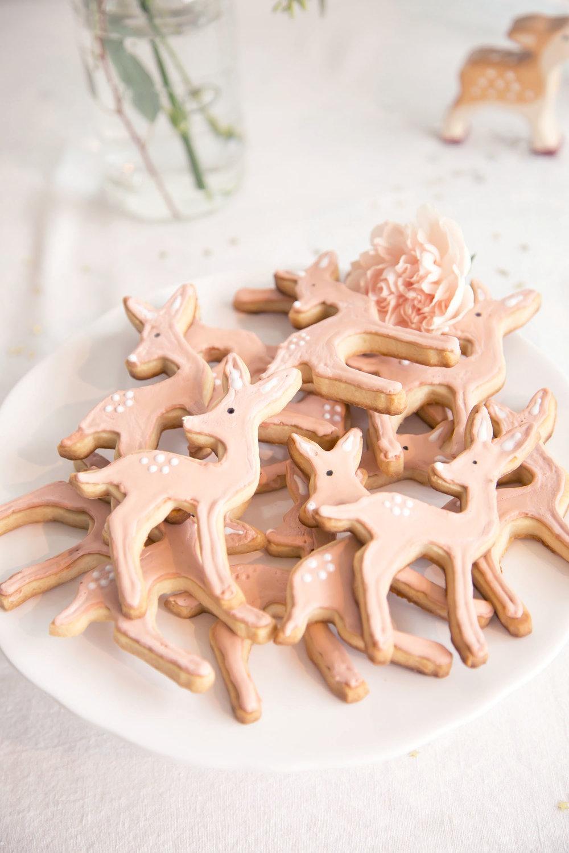 DIY deer cookies