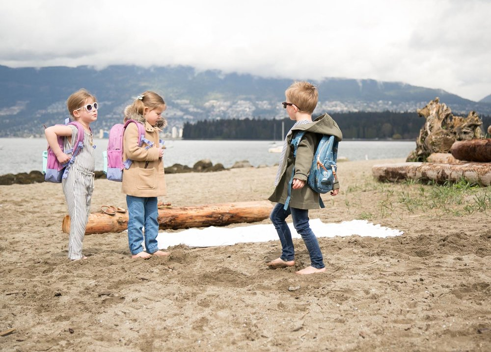 Kitsilano Beach picnic spot for kids