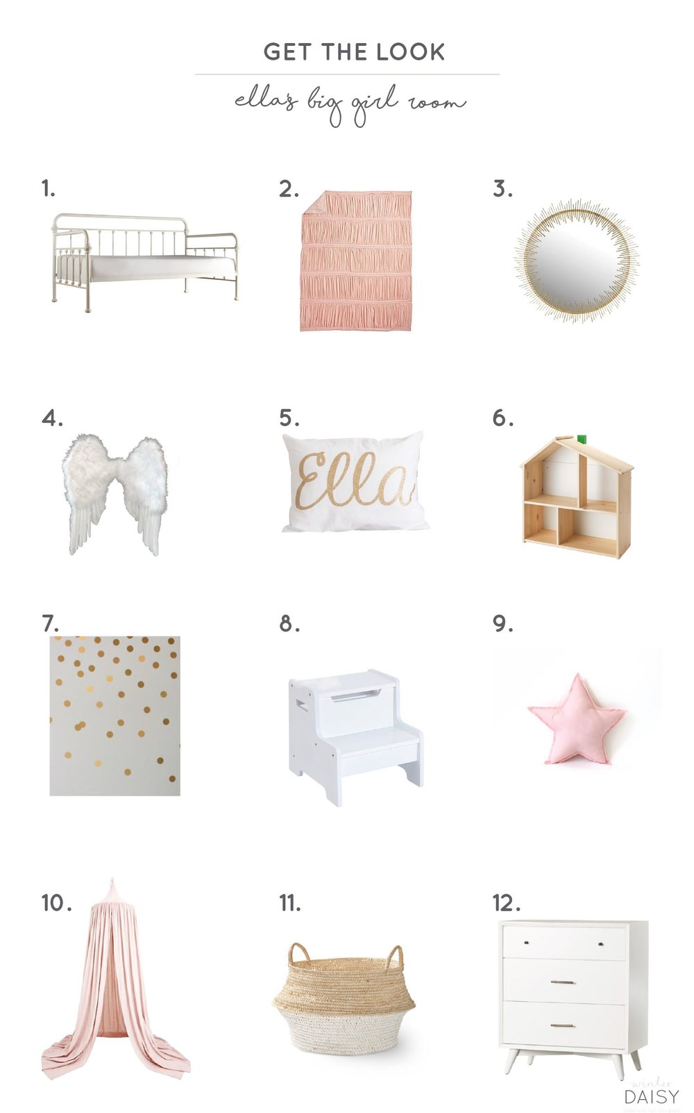 Get the look Ella's big girl room