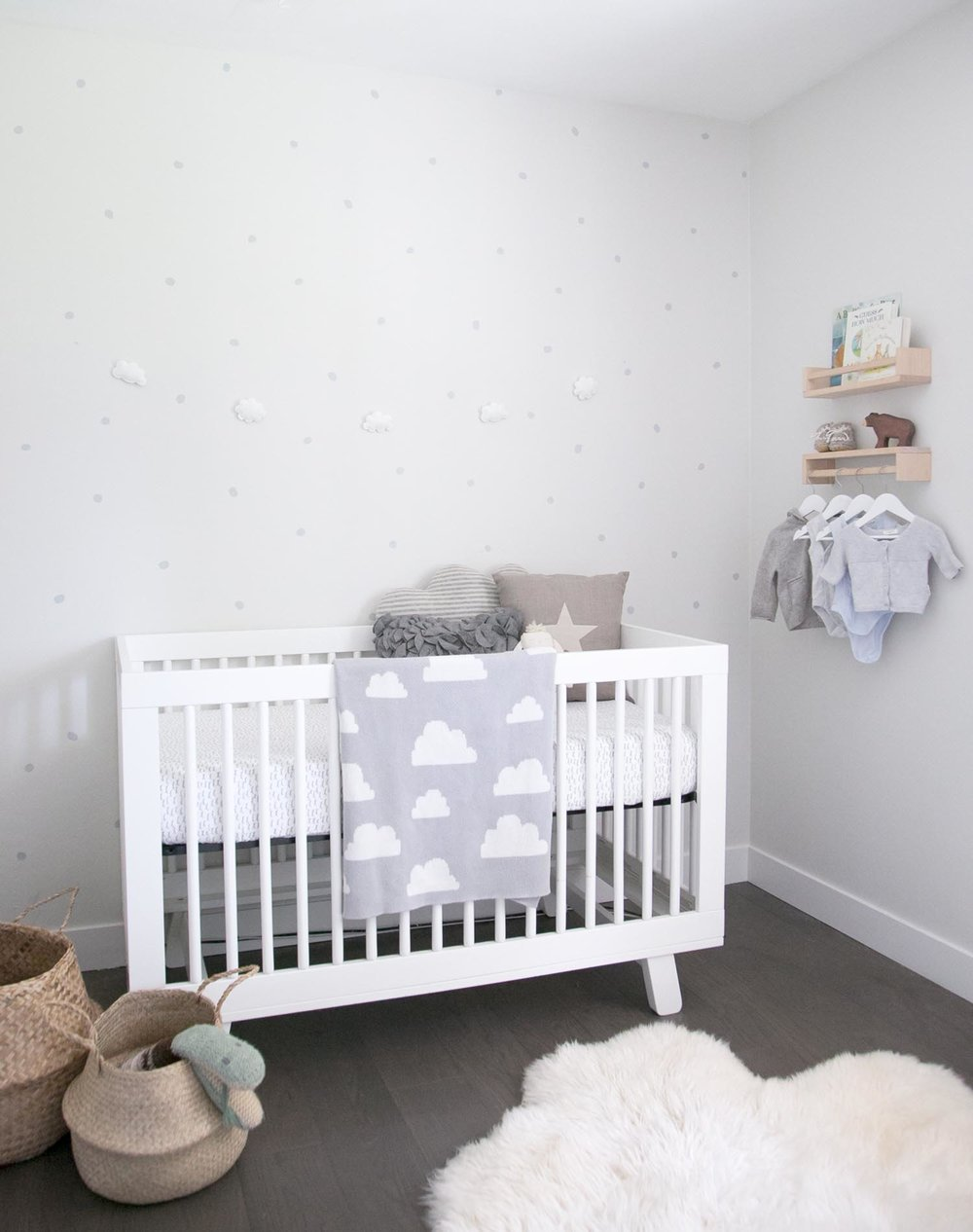 Organic and neutral baby nursery in Vancouver