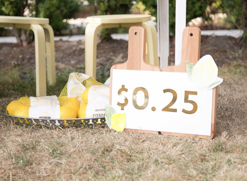 sign for lemonade stand