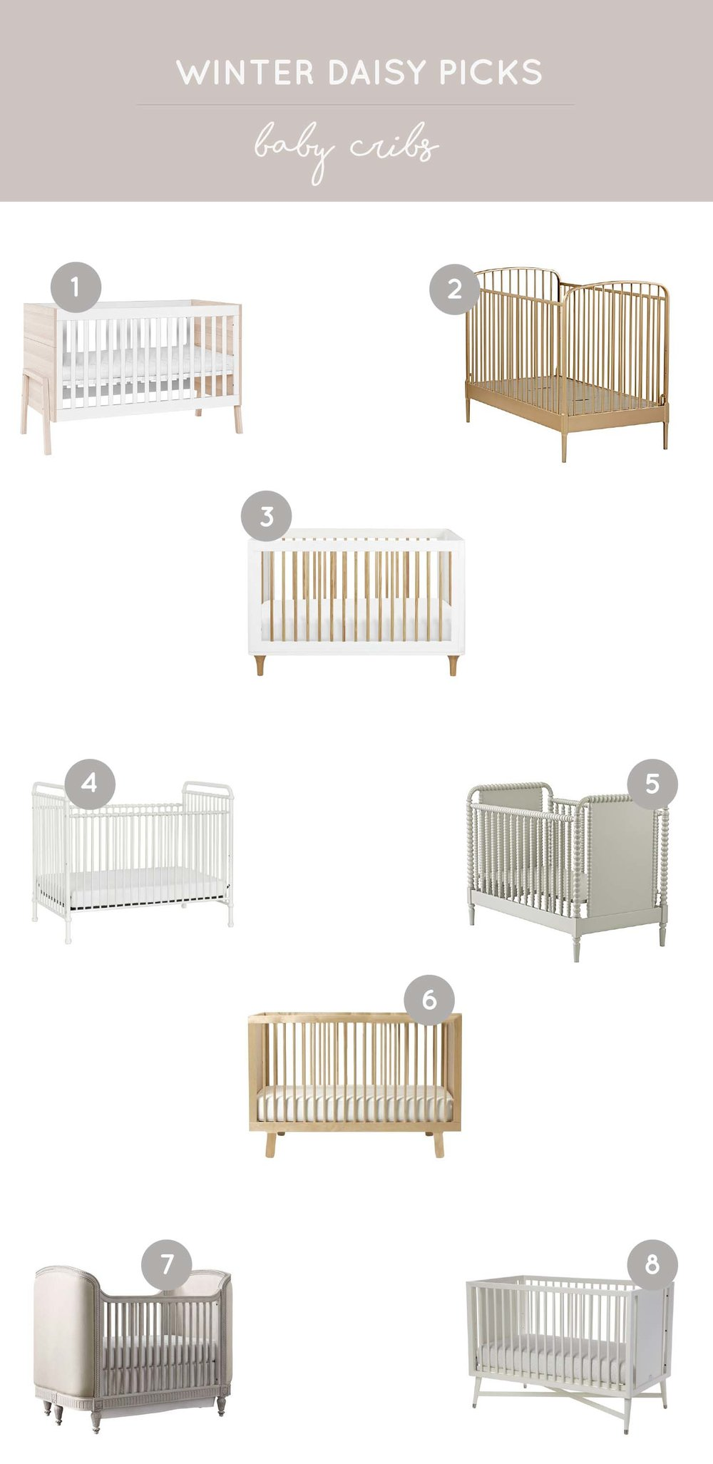 neutral baby cribs