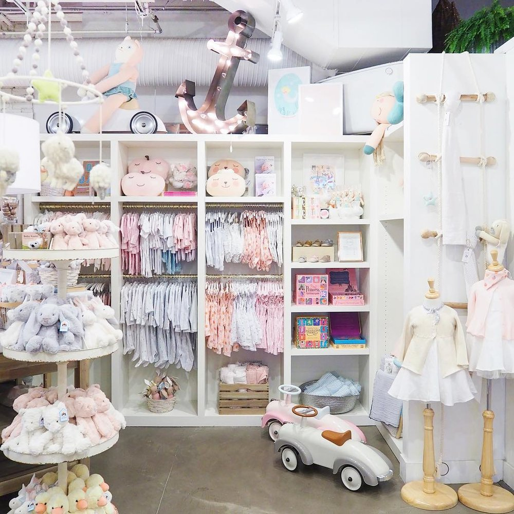 Baby and kids department at The Cross Design and Decor