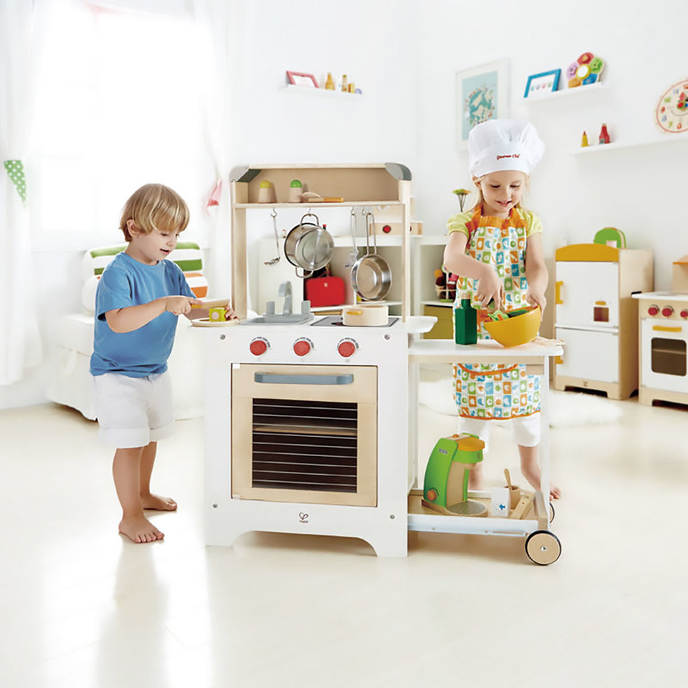 Hape wooden play kitchen