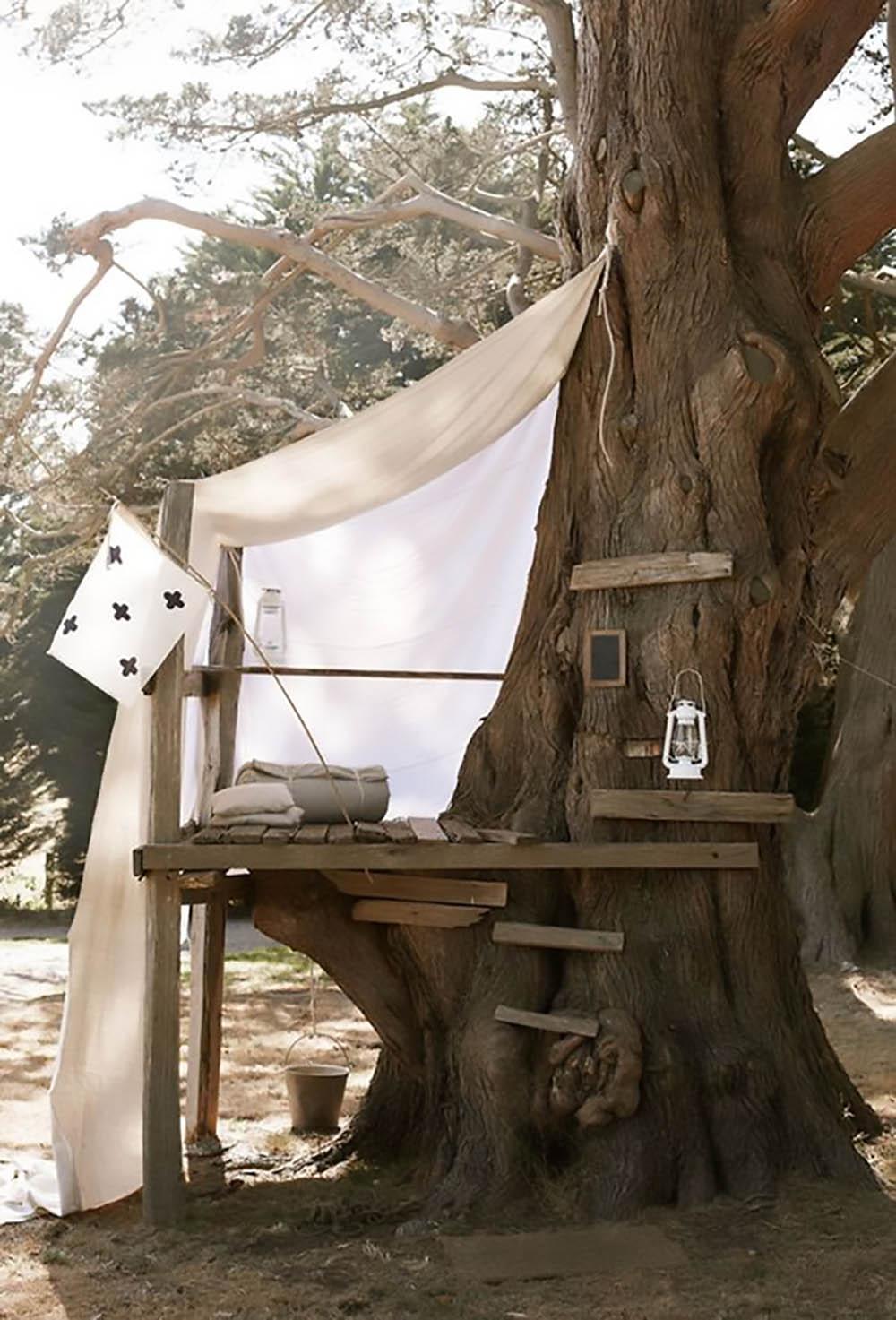 boho tree house