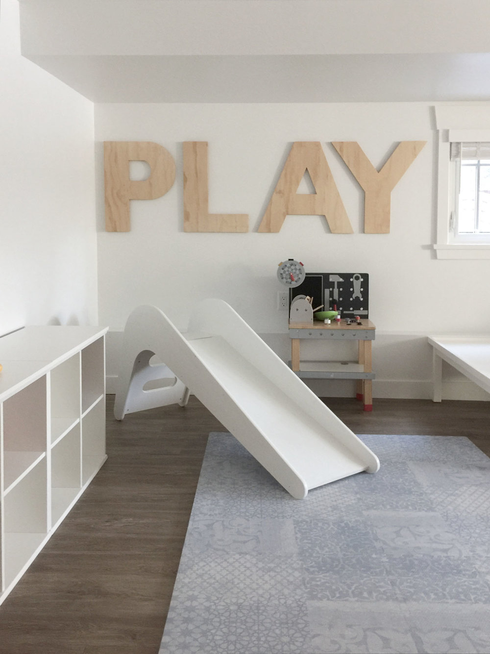 playroom in progress