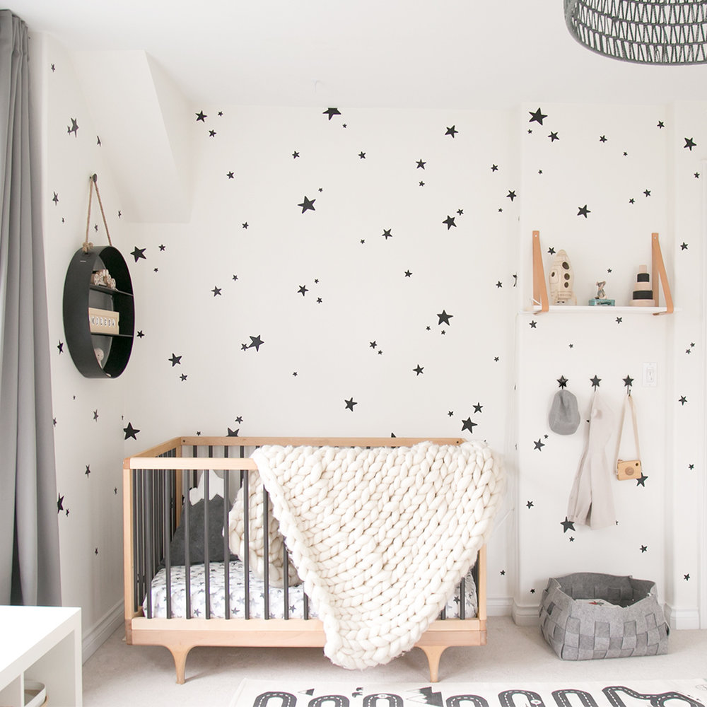 Baby Miles' nursery with Kalon crib