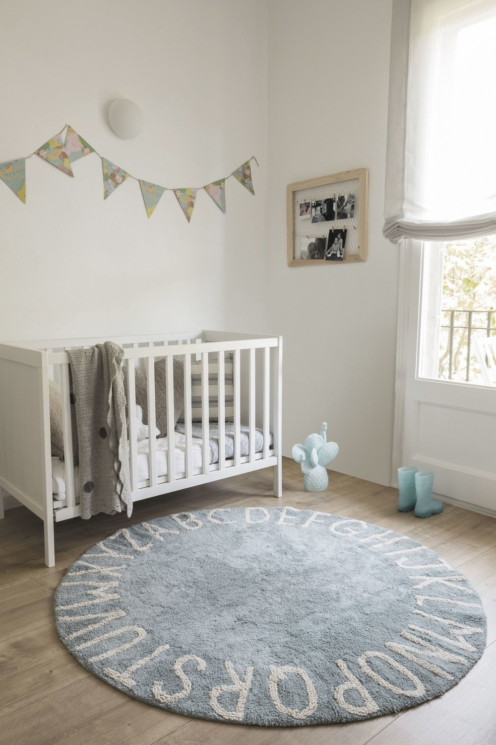 lorena canals abc rug in nursery