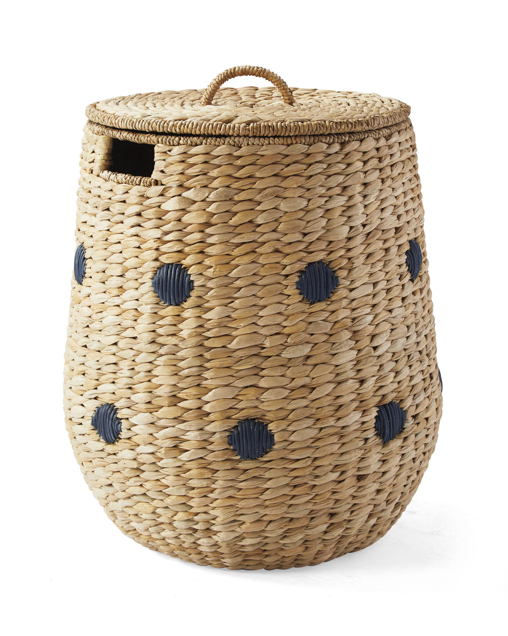dot basket with lid